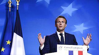 Güvenlik yasa tasarısı nedeniyle Fransa Cumhurbaşkanı Emmanuel Macron tüm ülkede eleştirilerin hedefi oldu.