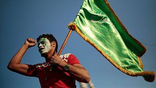 یک حامی جنبش انصارالله در یمن