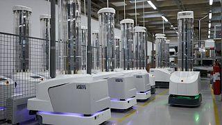 Τα ρομπότ απολύμανσης
