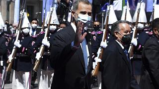 Spain's King Felipe VI had previously tested negative for COVID-19 at the start of the pandemic.