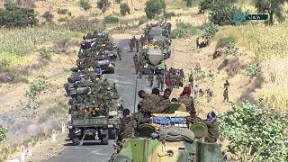 Etiyopya ordusu mensupları