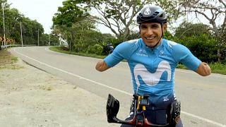 Juan José Florián 'Mochoman' se entrena para los Juegos Paralímpicos
