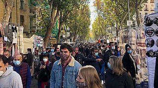 Una imagen del Rastro de Madrid, el mercado más famoso de la capital.