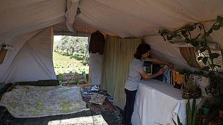 خيمة وسام دياب