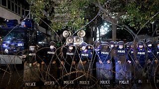 پلیس ضدسرکوب در بانگکوک