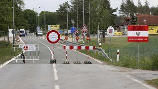 Ideiglenes osztrák-cseh határ 2020 tavaszán