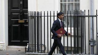وزير المالية البريطاني، ريشي سوناك، 24 سبتمبر، 2020