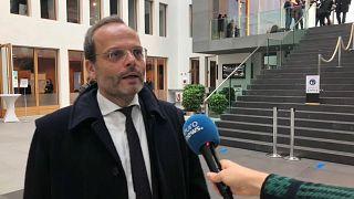 Felix Klein im Gespräch mit Euronews