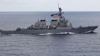 USS John S. McCain (DDG-56) destroyer pictured off the coast of Vietnam in 2011.