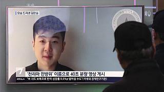 Kim Han Sol auf TV-Bildern (ARCHIV)