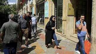 راسته کم مشتری صرافیها در خیابان فردوسی تهران