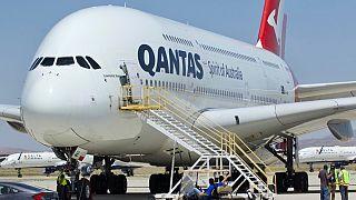 Un velivolo della compagnia aerea Qantas