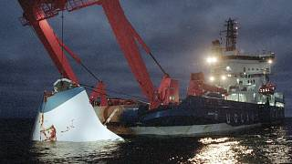 852 died when the MS Estonia sank in a storm in the Baltic Sea in September 1994.