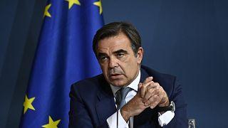 O αντιπρόεδρος της Κομισιόν Μαργαρίτης Σχοινάς