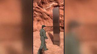 Le mystérieux monolithe découvert dans l'Utah, hommage à Kubrick?