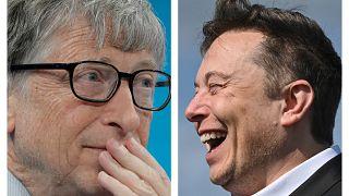 Билл Гейтс и Илон Маск