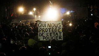 اعتراض به قانون «امنیت جامع» در پاریس