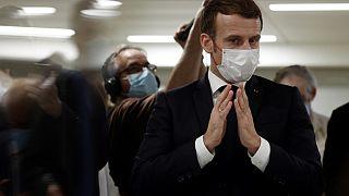 Cumhurbaşkanı Emmanuel Macron