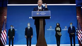 President-elect Joe Biden introduces his nominees and appointees for key positions in the national security team.