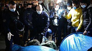 Paris polis operasyonu