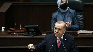 Cumhurbaşkanı ve AK Parti Genel Başkanı Recep Tayyip Erdoğan, TBMM'de partisinin Grup Toplantısına katılarak konuşma yaptı