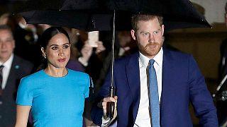 Prinz Harry und seine Frau Meghan bei den Endeavour Fund Awards in London, 5.3.2020