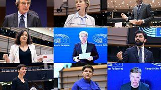 A parlamenti képviselőcsoportok vezetői és a Bizottság elnöke a hosszú távú költségvetés elfogadására sürgették a tagállamokat