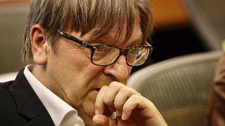 L'eurodéputé Guy Verhofstadt