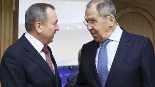 Главы МИДов Беларуси и России