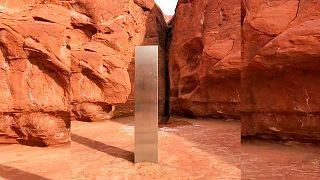 کشف شیء مرموز در صحرای سرخ یوتا