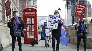 Διαδηλωτές στο Λονδίνο