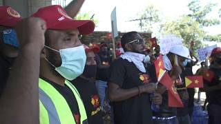 Ethiopians protest in Pretoria against Tigray fighting