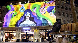 Licht Festival in Lausanne - noch bis zum 24.12.2020