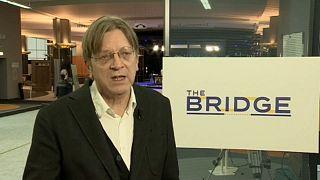 غي فيرهوفشتات، زعيم تحالف الليبراليين والديمقراطيين من أجل أوروبا في البرلمان الأوروبي