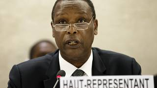 Former Burundi president Pierre Buyoya says he quits AU post to concentrate on murder case