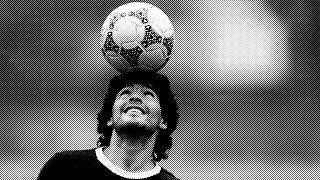 Maradona, au Mexique, lors de la Coupe du monde de football 1986
