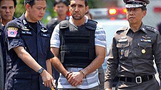 صورة من الارشيف-  المشتبه به الإيراني محمد خارزي ، بانكوك- 2012