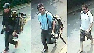 تصاویر سه مظنون بمبگذاری در بانکوک که سال ۲۰۱۲ توسط پلیس تایلند منتشر شد