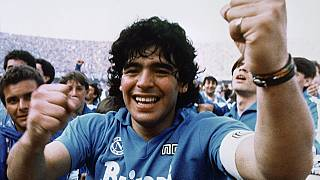 Maradona im Jahr 1987