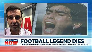 Marca journalist Juan Castro recalls meeting Diego Maradona