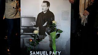 تصویر معلم فرانسوی که به قتل رسید