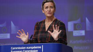 La vice-présidente de la Commission européenne Margrethe Vestager