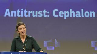 EU-Wettbewerbskommissarin Vestager in Brüssel