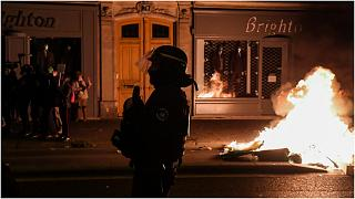 شرطي فرنسي - صورة  أرشيفية