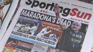Nigerian football community reacts to the death of Diego Maradona