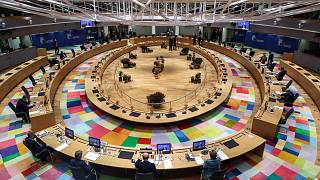 يحضر رؤساء الدول والحكومات الأوروبية قمة الاتحاد الأوروبي في مبنى المجلس الأوروبي في بروكسل، بلجبكا، 15 أكتوبر 2020