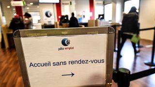Ein Arbeitsamt in Frankreich