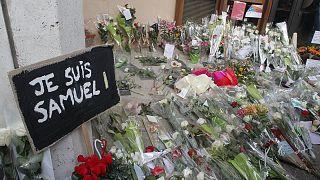 Fransa'da başı kesilerek öldürülen öğretmenin soruşturması kapsamında yeni suçlamalar