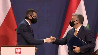 Morawiecki und Orbán