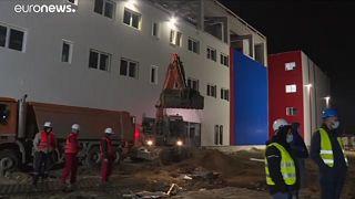 Újépítésű Covid-kórházak Szerbiában